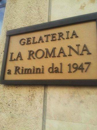 Gelateria La Romana: Il logo della gelateria