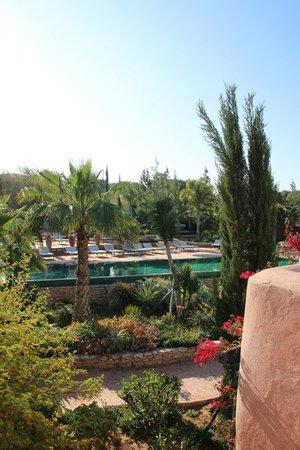 Le Jardin des Douars: vue de notre terrasse