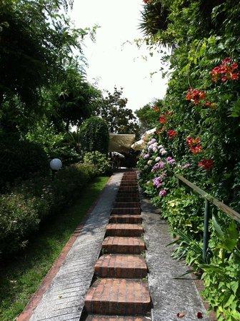 Ristorante San Giovanni, vialetto di accesso dalla strada