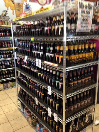 Koepsel's Farm Market: Over 400 beers to choose from (and hard ciders)