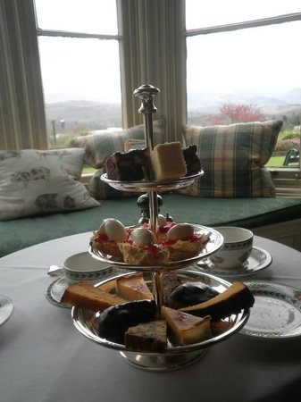 Holbeck Ghyll Country House: Afternoon tea