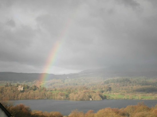Holbeck Ghyll Country House: View from Ghyllside Cottage on the morning of our wedding