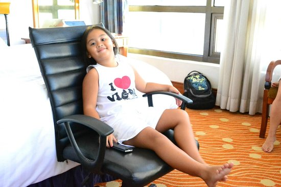 Holiday Inn Manila Galleria : My Daughter