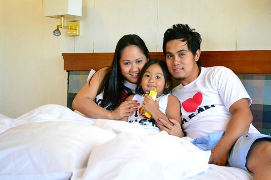 Holiday Inn Manila Galleria : My Family