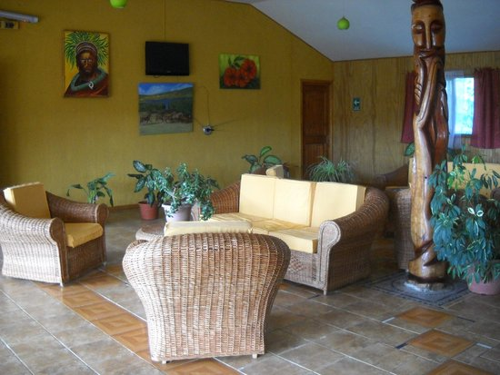 Cabanas Rapa Nui Orito : Recepción Rapa Nui Orito