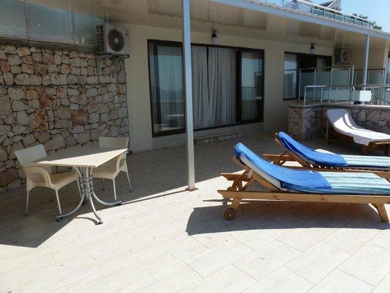 Hotel Cachet: Room terrace
