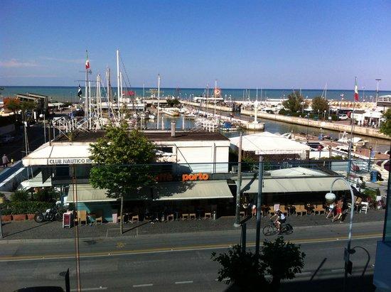 Hotel Giulietta: Panorama dalla camera