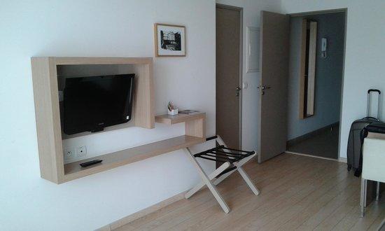 Residhome Appart Hotel Seine Saint Germain: salon2