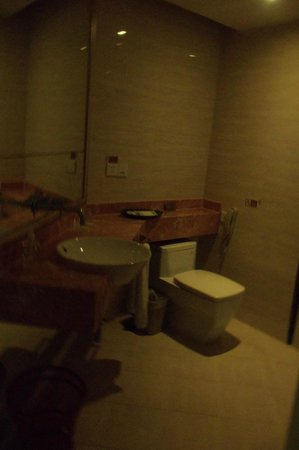 Rhea Boutique Hotel Shanghai Railway Station: Bathroom