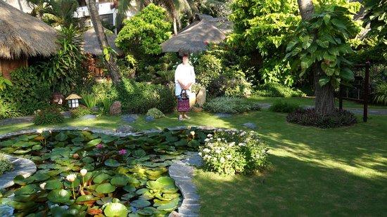 Bamboo Village Beach Resort & Spa : На полянке