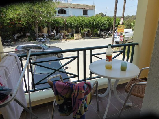 Hotel Romantica : huge balcony