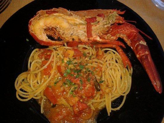 Medeus: spaghetti all'astice