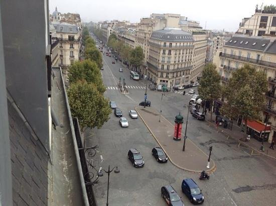Hotel Champs-Elysees Friedland by HappyCulture: view from my room