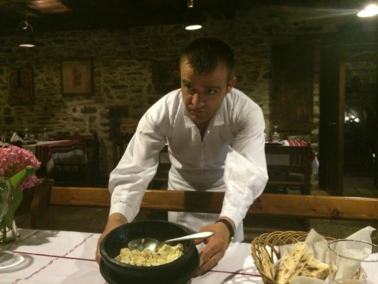 Hotel Tradita Geg & Tosk: chef