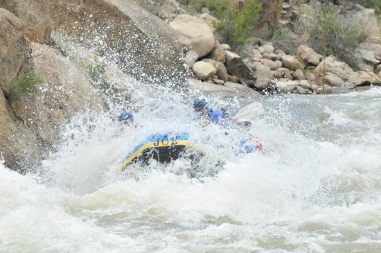 Buffalo Joe's Rafting brought to you by River Runners: Browns Canyon Zoom Flume