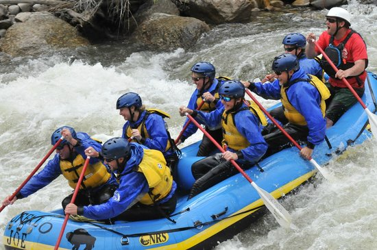 Buffalo Joe's Rafting brought to you by River Runners: Browns Canyon top of Seven Stairs
