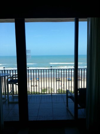 Seabreeze Beach Resort: View from 6th floor lounge