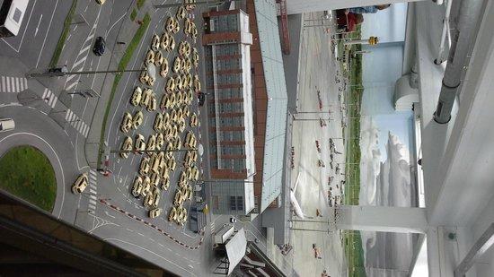 Miniatur Wunderland: Parcheggio taxi dell'aeroporto