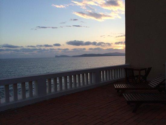 Villa Las Tronas Hotel  & Spa: Il tramonto dalla balconata