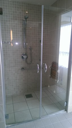 Hodson Bay Hotel: An amazing shower