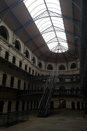 Kilmainham Gaol: the main, modern part of the gaol