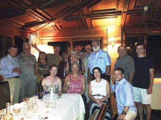 La Casella, Eco Resort: Dinner group