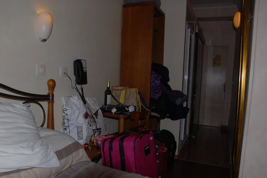 Pratic Hotel : from the bed; next to the wall!