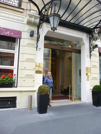 Normandy Hotel : Entrada do hotel