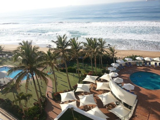 uMhlanga Sands Resort: The view is great.