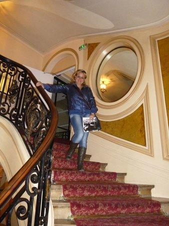 Normandy Hotel: Acesso para as suítes.