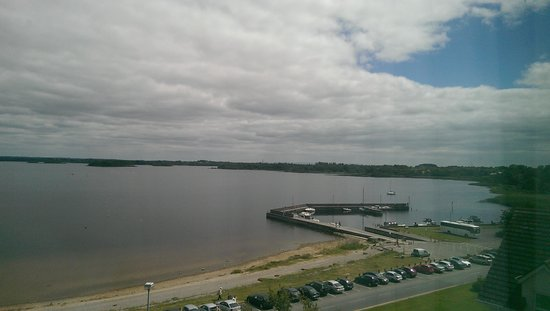 Hodson Bay Hotel : Our view