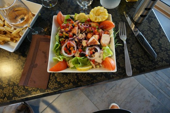 U Livanti : La salade de poulpe