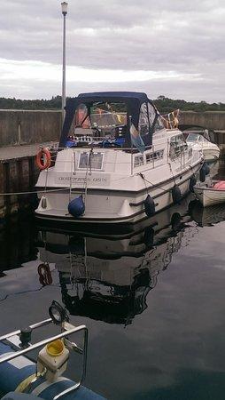 Hodson Bay Hotel: boats