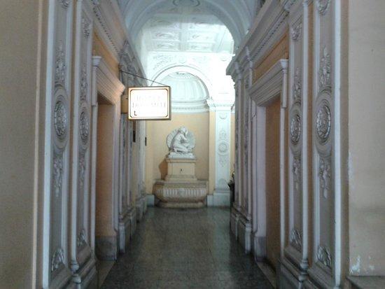 Hotel Dolomiti: piano terra ingresso stabile