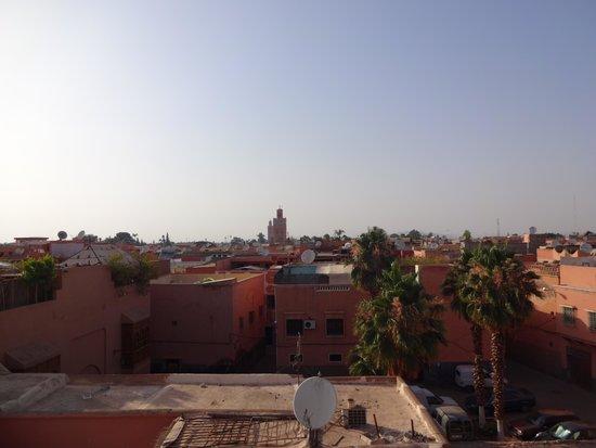 Riad Elnoujoum : La terrasse