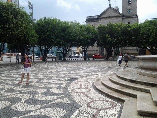 Church of São Sebastião e São Francisco de Assis: Igreja e largo de São Sebastião.