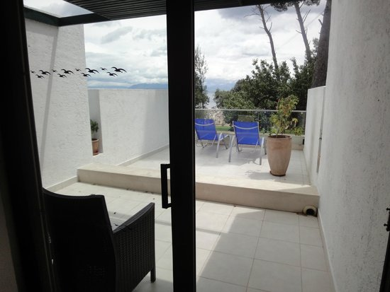 Kontokali Bay Resort and Spa: balcony