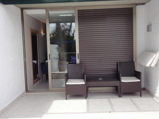 Kontokali Bay Resort and Spa: balcony seats