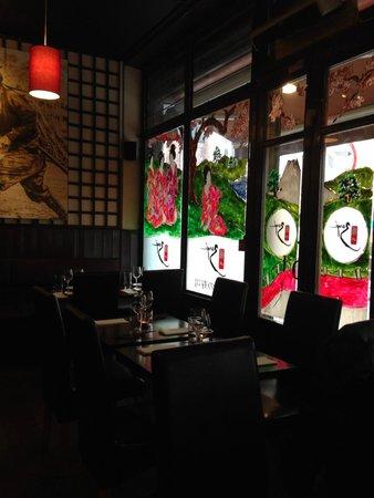 Banyi Japanese Dining: Interior