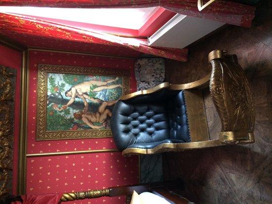 Zeit & Traum Hotel: Relax-Sessel im Château d'Amour