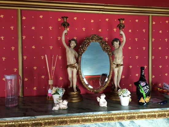 Zeit & Traum Hotel: Deko Château d'Amour