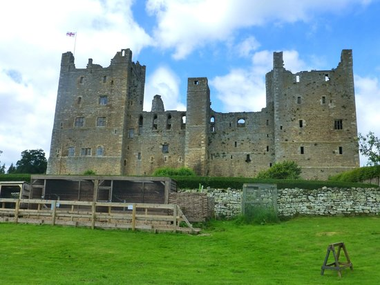 Bolton Castle from the gardens.