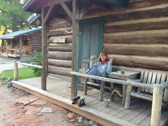 The Lazy L&B Ranch: The Whitman Cabin, where we stayed