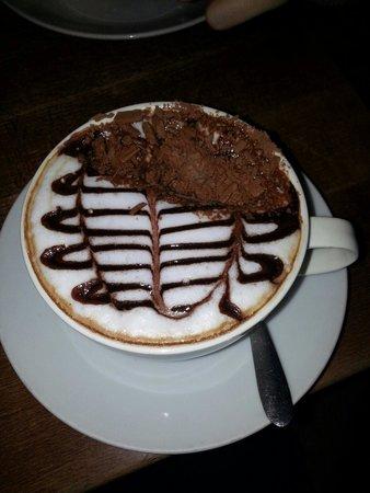 The Druie: Coffee tastes as good as it looks :)