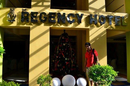 Regency Hotel de Vigan: Hotel Front