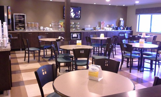 Quality Inn: Breakfast dining area - very well kept & clean