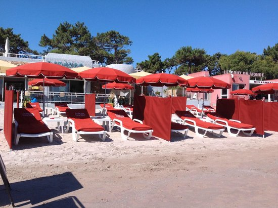 Le Blockos : Plage confortable...