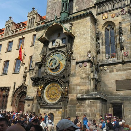 Old Town Square : Could not understand this astro clock