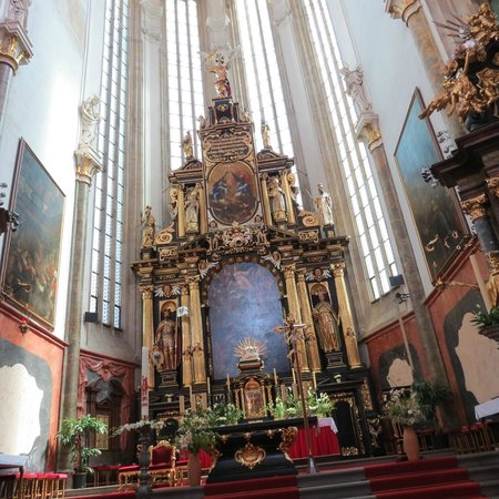 Old Town Square : Taking photos in St. Nicholas church is forbidden