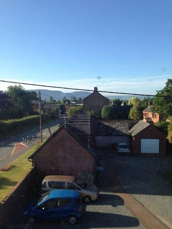 Llandysilio, UK: View from the room